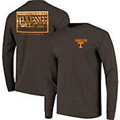 Image One Men's Tennessee Volunteers Grey Campus Sky Long Sleeve T-Shirt