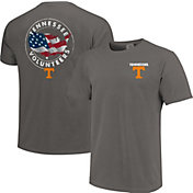 Image One Men's Tennessee Volunteers Grey Sketch USA T-Shirt