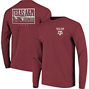 Image One Men's Texas A&M Aggies Maroon Campus Sky Long Sleeve T-Shirt