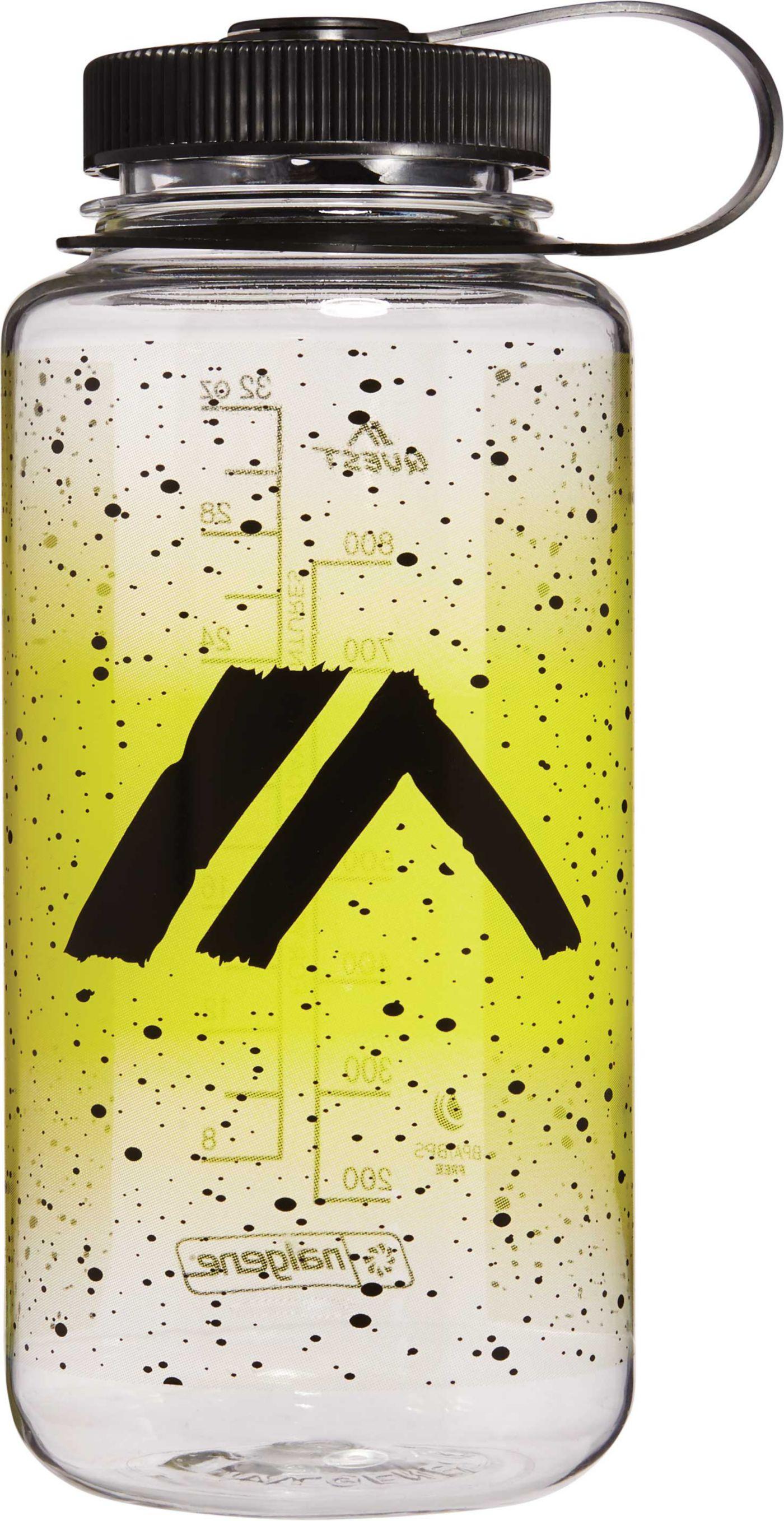 Quest Nalgene Yellow Fade 32 oz. Water Bottle
