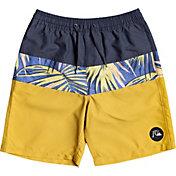 Quiksilver Boy's Sub Tropics Youth 17 Swim Trunks