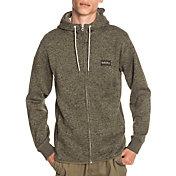 Quicksilver Men's Keller Zip-up Fleece Hoodie