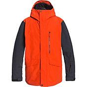Quiksilver Men's Mission 3 in 1 Snow Jacket