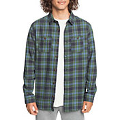 Quicksilver Men's Shadow Sets Flannel