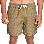 """Quiksilver Men's Threads and Fins Volley 17"""" Swim Shorts"""