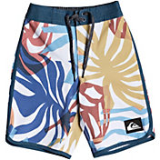 "Quiksilver Toddler Boys' Highline Vacancy Scallop 14"" Board Shorts"