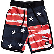 "Quiksilver Toddler Boys' Everyday Freedom Quad 14"" Board Shorts"