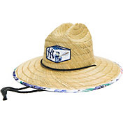 Reyn Spooner Men's New York Yankees White Scenic Straw Hat