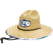 Reyn Spooner New York Yankees White Scenic Straw Hat