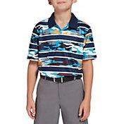 DSG Boys' Camo Stripe Golf Polo