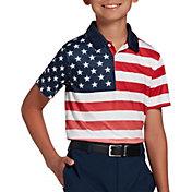 DSG Boys' Literal Flag Polo Shirt