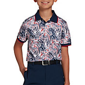 DSG Boys' Tropical Printed Polo Shirt