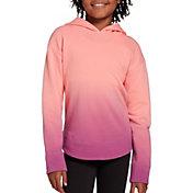 DSG Girls' Fleece Curved Hem Hoodie