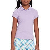 DSG Girls' Solid Short Sleeve Golf Polo