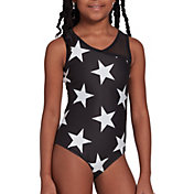 DSG Girls' Mesh Back Leotard