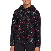 DSG Girls' Printed Polar Fleece Hoodie