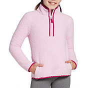 DSG Girls' Sherpa 1/4 Zip Jacket