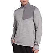 DSG Men's Grid Fleece Half Zip (Regular and Plus)