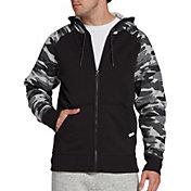 DSG Men's Everyday Printed Cotton Fleece Full Zip Hoodie