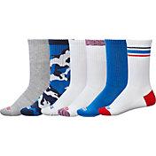 DSG Adult Americana Crew Socks Multicolor 6-Pack