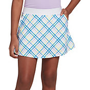 DSG Girls' Printed Woven Golf Skort
