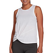 DSG Women's Knot Side Tank Top (Regular and Plus)