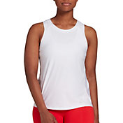 DSG Women's Performance Mesh Pieced Tank Top (Regular and Plus)