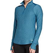 DSG Women's Performance 1/4 Zip Up Long Sleeve Shirt