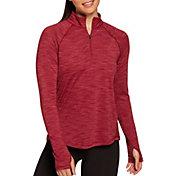 DSG Women's Performance ¼ Zip Long Sleeve Shirt