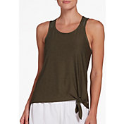 DSG Women's Performance Knot Front Tank Top