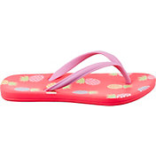 DSG Kids' Pineapple Flip Flops