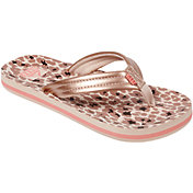 Reef Kids' Ahi Cheetah Flip Flops