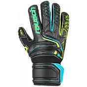 Reusch Junior Attrakt RG Open Cuff Finger Support Soccer Goalkeeper Gloves