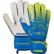 Reusch Junior Attrakt SG Extra Finger Support Soccer Goalkeeper Gloves