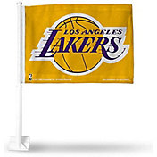 Rico Los Angeles Lakers Black Car Flag