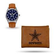 Rico Men's Dallas Cowboys Watch and Wallet Set