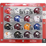 Riddell SEC Conference Mini Football Helmet Set