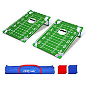 GoSports Football 2' x 3' PVC Cornhole Set