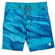 SCALES Men's First Mates Bahamas Current Board Shorts