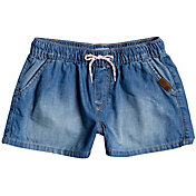 Roxy Girls' Honey Sunday Elasticated Denim Shorts