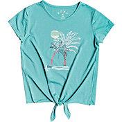 Roxy Girls' Summer Long Tie-Front T-Shirt