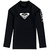 Roxy Girls' Whole Hearted UPF 50 Long Sleeve Rashguard