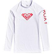Roxy Girls' Whole Hearted UPF 50 Long Sleeve Rashguard