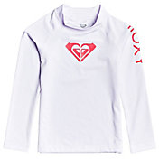 Roxy Little Girls' Whole Hearted Long Sleeve UPF 50 Rashguard