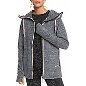 Roxy Women's Electric Feeling Zip-up Polar Fleece Hoodie
