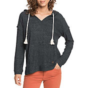 Roxy Women's Lovely Life Long Sleeve Poncho Hoodie
