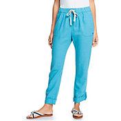 Roxy Women's On the Seashore Linen Trousers