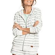 Roxy Women's Perfect Wave Stripe Full Zip Hoodie