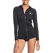Roxy Women's Essentials Lycra Full-Zip Hooded Rash Vest