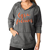 Gameday Couture Women's Bowling Green Falcons Grey Keeping Cozy French Terry Pullover Hoodie